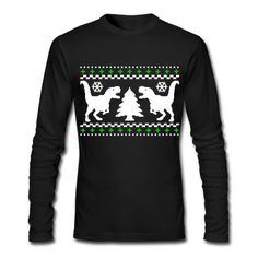 Ugly T-REX Christmas Sweater T-Shirt   Spreadshirt   ID: 12673488