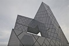 Rem Koolhaas and Ole Sheeren's new building for Central China Television headquarters in Beijing.
