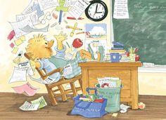 Suzy as a teacher -Suzy's Zoo