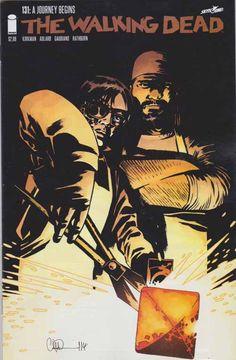 Walking Dead #131 Sept, 2014 A journey begins.  Robert Kirkman Writer / Creator. Charlie Adlard Art and Pencils.