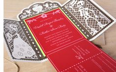day of the dead wedding invitations!