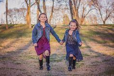Children photography action