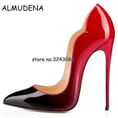 b6778cd47a98 Factory Price Black Patent Leather High Heels Shoes Shaped Shinny Leather  Wedding Party Dress Pumps Shoes Top Quality