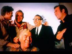 "indreamsofyesterday: "" The cast of 'Bonanza' with the show's creator David Dortort. Por Tras Das Cameras, Lorne Greene, Bonanza Tv Show, Pernell Roberts, Tv Shows Funny, Michael Landon, Tv Westerns, Scene Photo, Theme Song"
