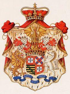 Blog Heraldistas: Armas de la casa real de Braganza