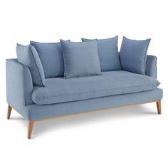 Vintage Sofa im 60er Jahre Retro Look – hochwertige Möbel online bestellen aund bequem liefern lassen auf:  http://moebeldeal.com/raeume/wohnzimmer/moebel/5798/vintage-sofa-retro-couch-puro?c=158