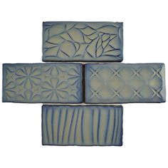 "EliteTile Antiqua Sensations 3"" x 6"" Ceramic Subway Tile in Gray & Reviews | Wayfair"
