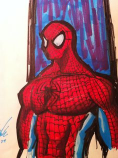 spiderman by me