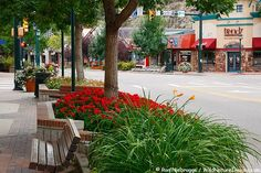Downtown Estes Park, CO: incredibly charming town in the gorgeous front range of the Rocky Mountains.