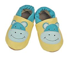 Tipsie Toes Baby Soft Sole Leather Shoes  Hippo 06 Month 108 * More info could be found at the image url.Note:It is affiliate link to Amazon.