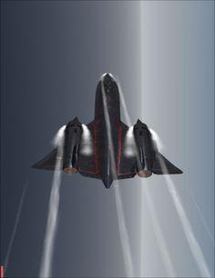 SR-71 Blackbird amor a primera vista uno de mis preferidos y mas perfectos aviones.