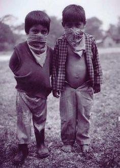 Niños zapatistas