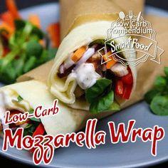 Low-Carb Mozzarella Wrap in 10 Sekunden