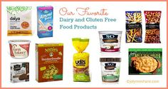 Our 10 Favorite Dairy & Gluten Free Food Products, from Musings of a Housewife