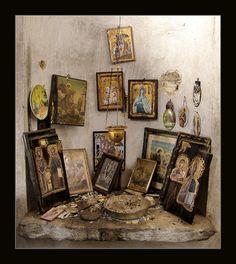 Beautiful Icon corner + + + Κύριε Ἰησοῦ Χριστέ, Υἱὲ τοῦ Θεοῦ, ἐλέησόν με τὸν + + + The Eastern Orthodox Facebook: https://www.facebook.com/TheEasternOrthodox Pinterest The Eastern Orthodox: http://www.pinterest.com/easternorthodox/ Pinterest The Eastern Orthodox Saints: http://www.pinterest.com/easternorthodo2/