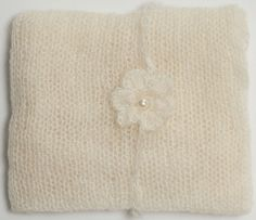 Ivory Mohair Wrap and Matching Headband Photo Prop Newborn Photography