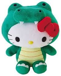 91c58ffbb Hello Kitty Plush, Hello Kitty Items, Alligator Costume, Animal Heads,  Sanrio,