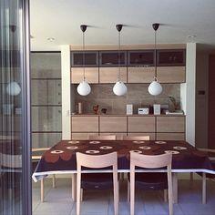 Yukikoさんの、Lounge,北欧,ルイスポールセン,marimekkoについての部屋写真