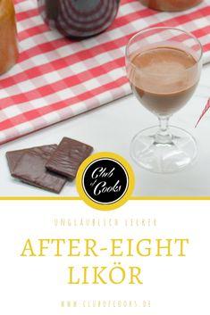 Pfefferminz und Schokolade - eine unglaublich gute Kombination. Und in Form eines Likörs macht sie fast süchtig!