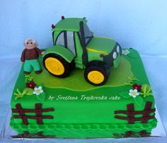 #tractor#cake