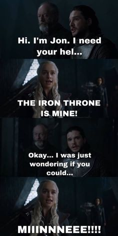Dany and The Iron Throne, Game of Thrones. Dany and The Iron Throne, Game of Thrones. Dany and The Iron Throne, Game of Thrones. Arte Game Of Thrones, Game Of Thrones Meme, Jon Snow, The North Remembers, Chris Martin, Sansa Stark, Maisie Williams, Game Of Throne Lustig, Funny Videos