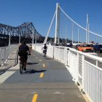 How to access the Bay Bridge bike trail (KQED) Hours are 7am to 5:30pm.