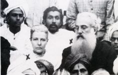 Annie Besant and  Cel.Olcott, Adyar, 1893 Convention