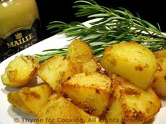 Grilled Dijon Potatoes, served with Tuna and Herbed Mustard Sauce - Friday Menu #MenuPlan