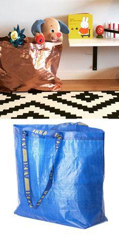 IKEA Frakta Bag - DIY - Toystorage
