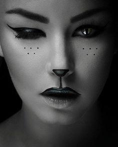 Halloween cat look