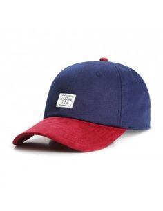 Cayler & Sons Patched - Curved dad cap - navy maroon