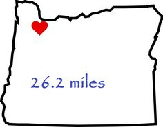 Portland Marathon. Running tattoo idea