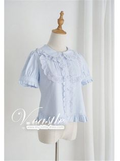 Vcastle - Sweet Peter Pan Collar Lolita Short Sleeves Blouse - Limited Qauntity!