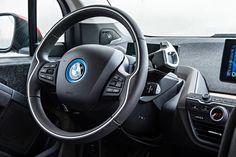 Nice BMW: 2014 BMW i3 eDrive steering wheel  Black blue leather contour multifunction 2...  DREAM BIG Check more at http://24car.top/2017/2017/05/01/bmw-2014-bmw-i3-edrive-steering-wheel-black-blue-leather-contour-multifunction-2-dream-big/