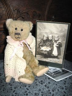 Tracy's Toys (and Some Other Stuff): Antique Teddy Bear & Photographs