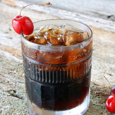 Get this Vodka recipe of Pinnacle® Cherry Cola from The Cocktail Project.