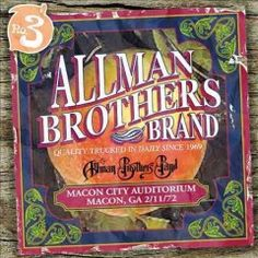 Macon City Auditorium: 2/11/72 (CD)--The Allman Brothers Band focused on archival live collections from the earliest days of the group, which featured lead guitarist Duane Allman,who was killed in a motorcycle accident on October 29, 1971. On this third release, the archivists turn to the lineup that existed just after Allman's death, which consisted simply of the remaining 5 members. After Duane died, the decision to continue without him was made, but the band did not consider replacing…