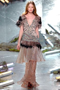 See the complete Rodarte Fall 2015 Ready-to-Wear collection.