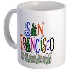 San Francisco Gift Mug