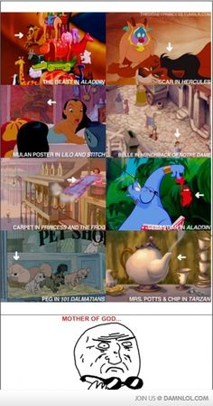 I never noticed any of these!