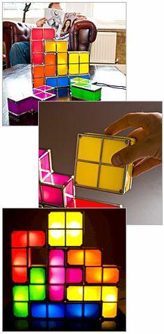 Tetris Lights.... YES PLEASE!