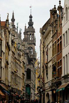 Streets of Bruxelles, Belgium