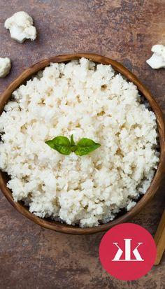 Galéria - Chutné a zdravé recepty z karfiolu: Lepšie ako vyprážaný! - KAM za KRÁSOU Grains, Dairy, Cheese, Food, Meals, Yemek, Eten