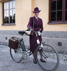 Bäst klädda dam i Bike in Tweed 2014