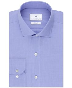 Ryan Seacrest Distinction Non-Iron Slim-Fit Micro Houndstooth Dress Shirt