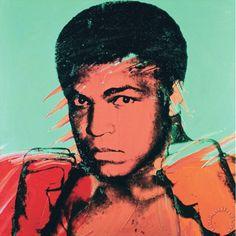 Andy Warhol, Muhammad Ali (Cassius Clay), 1978
