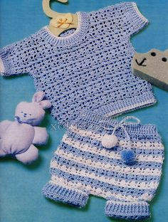 Crochet Set Pattern (translator)