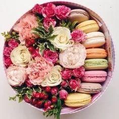 цветы с макарони в коробке москва: 19 тыс изображений найдено в Яндекс.Картинках