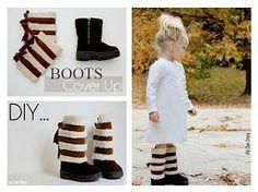 Tutorial: Sherpa boot coverups | Sewing | CraftGossip.com