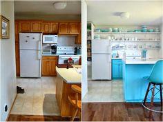 Antes y después de una cocina, con soluciones lowcost.